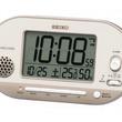 人気の31曲メロディ目ざましに温度湿度表示のついたデジタル電波タイプが登場