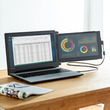 ノートパソコンにモニターをプラスできるモバイルモニターを9月20日発売