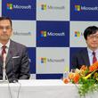 マイクロソフト新社長の吉田氏が就任会見 - 日本法人を世界一に