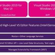 Mac版Visual Studio、Windows版と同じエディタ機能を獲得
