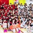ハロー!プロジェクト7グループの全メンバーが紅白に分かれて真剣勝負を展開