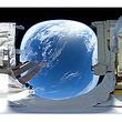リコーの360°カメラが地球を撮影、静止画・動画を公開