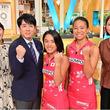"""安住アナ、""""さくらジャパン""""・河村選手と浅井選手からホッケーを学ぶ!<東京VICTORY>"""