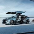 レクサスが新EVコンセプト「LF-30 エレクトリファイド」を初公開