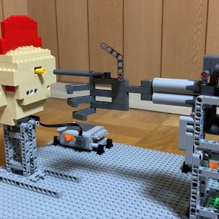 レゴで『北斗の拳』を再現! 青いレゴが服のよ…
