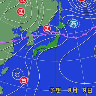 北陸や東北では引続き大雨に警戒 沖縄は台風に…