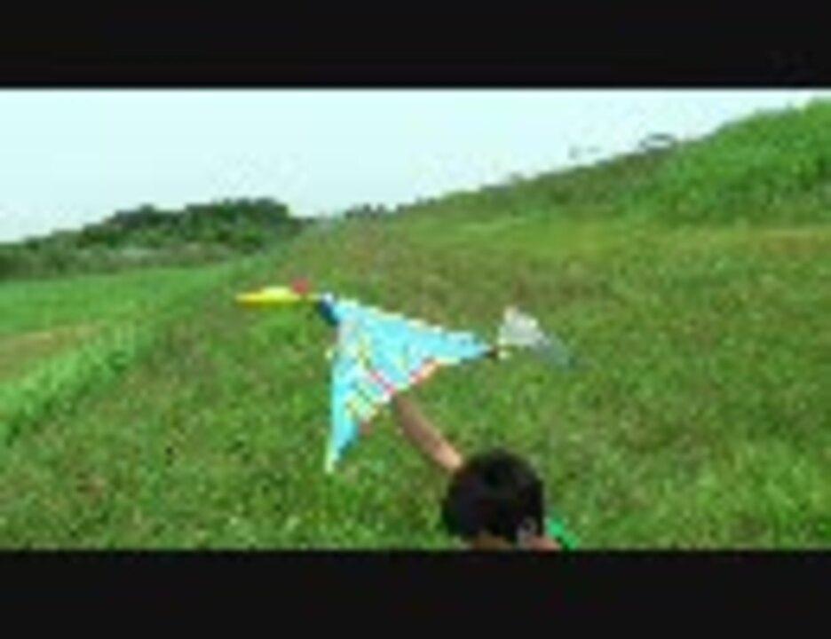 チャオヤンゴプテルス Chaoyangopterus 8-9 翼竜型羽ばたき機 滑空 ...