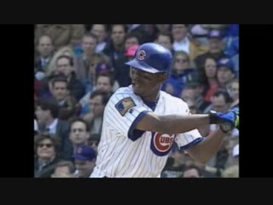 シカゴ・カブス在籍時のタフィ・ローズ 3打席連続本塁打 - ニコニコ動画