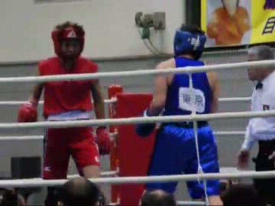 2012全日本女子ボクシング選手権ミドル級決勝 - ニコニコ動画
