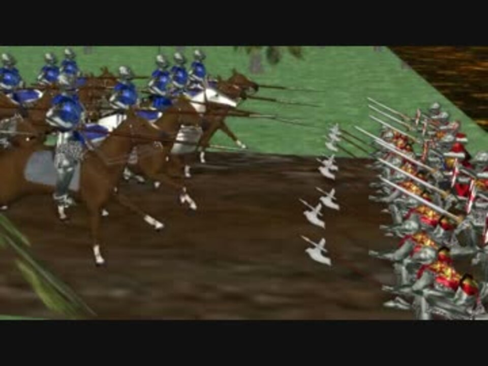 その時歴戦が動いた アジャンクールの戦い-騎士道の終焉- - ニコニコ動画