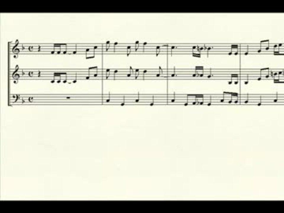 ひる の いこい 楽譜