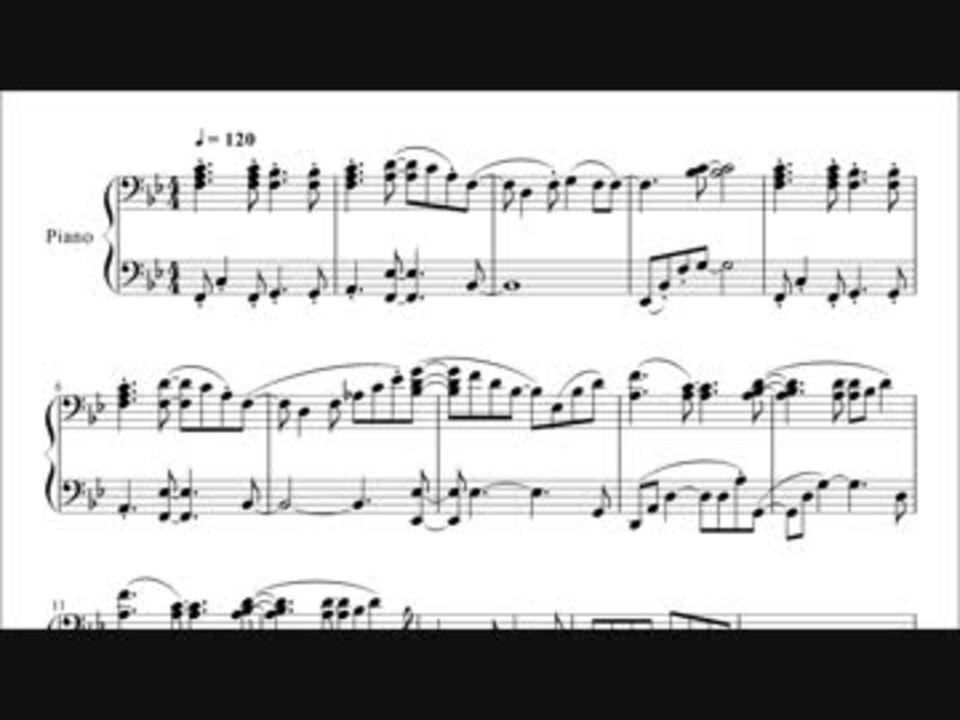 あつ森 オープニング 楽譜