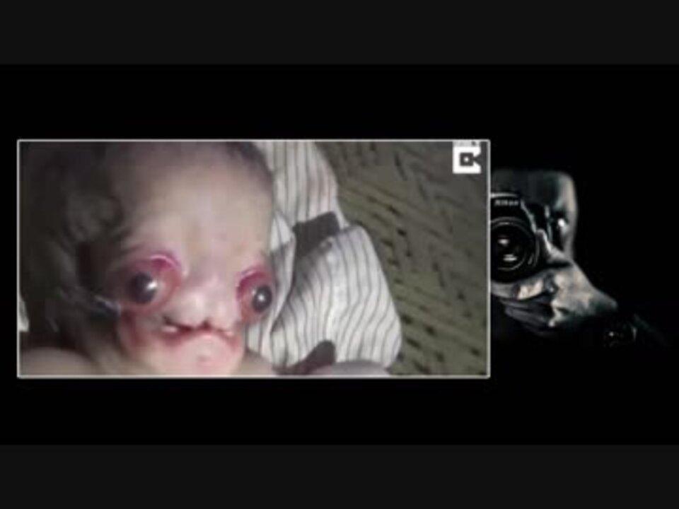 赤ちゃんを産む動画