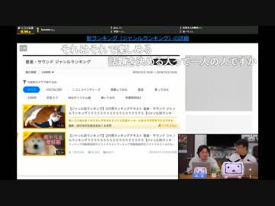 動画 ランキング ニコニコ