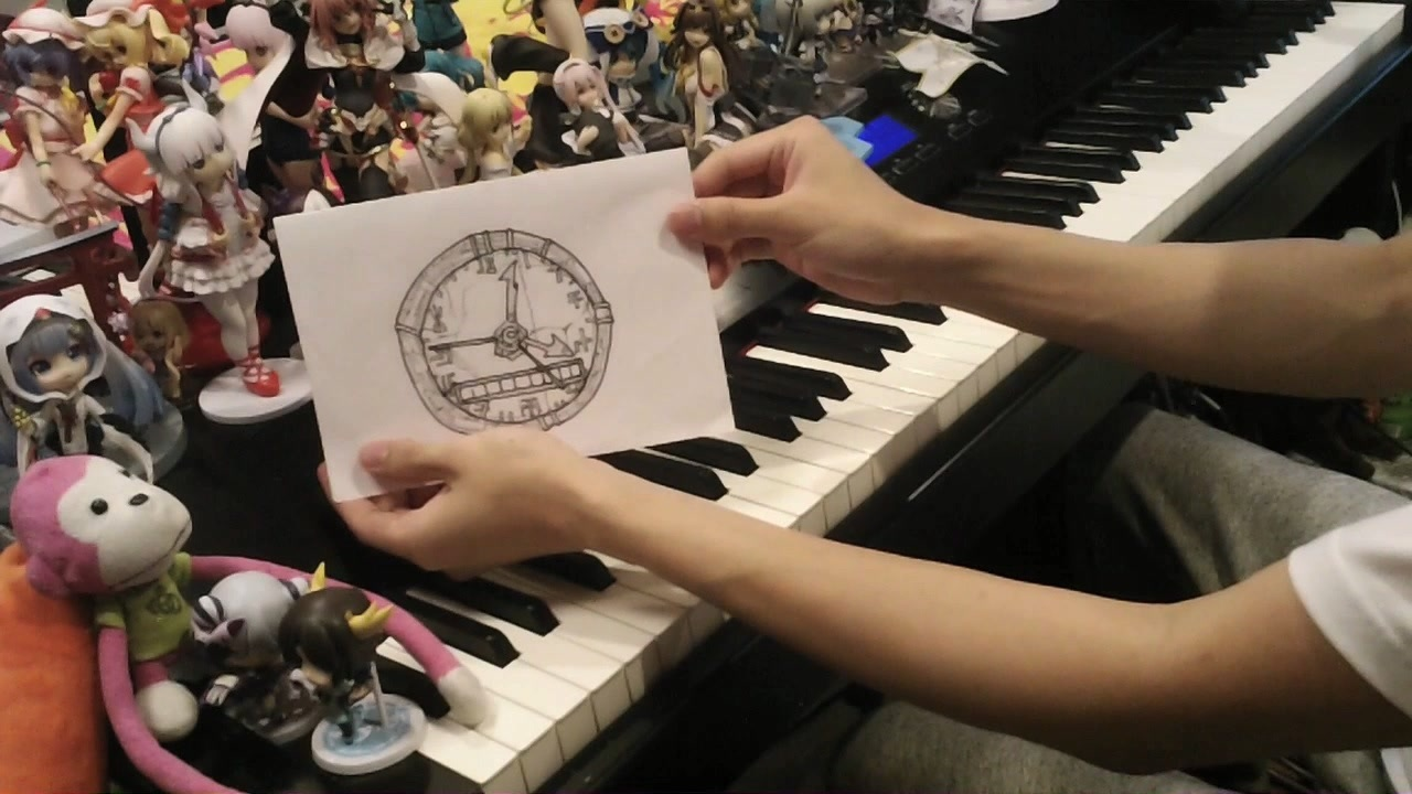 噛む ピアノ を 秒針