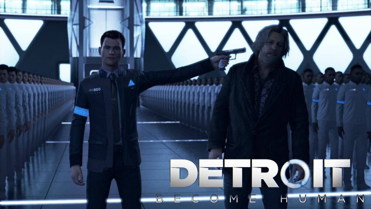 Detroit Become Human アンドロイドはただの機械か生命か 22 実況 ニコニコ動画