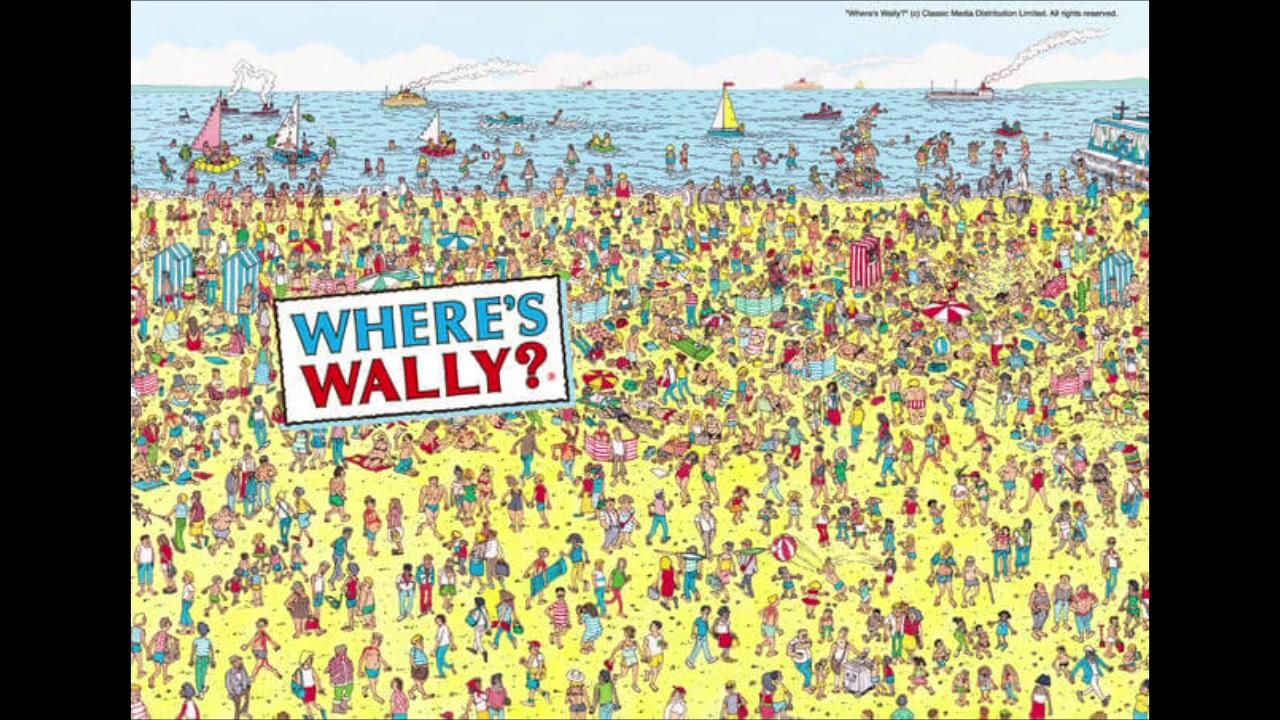 ない 探さ ウォーリー で を