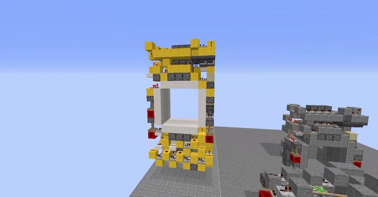 ピストン 3 ドア 3 マイクラ
