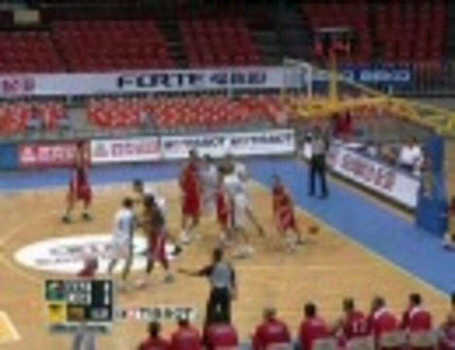 2009年男子バスケアジア選手権(2次リーグ) カザフスタン vs ヨルダン ...